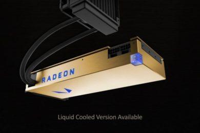 Listadas en precompra las Radeon Vega Frontier Edition