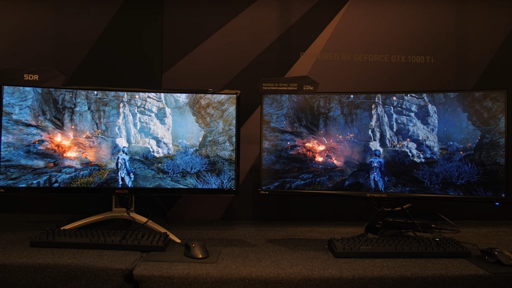 NVIDIA empeoró adrede una demo en SDR para beneficiar al HDR 29