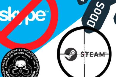 CyberTeam atacó Skype y ahora va a por Steam