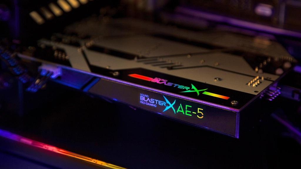 Creative anuncia la Sound BlasterX AE-5, sonido de calidad y luces LED 30