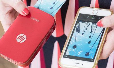 Nueva HP Sprocket en color rojo, disfruta de tus fotos favoritas en cualquier lugar 88