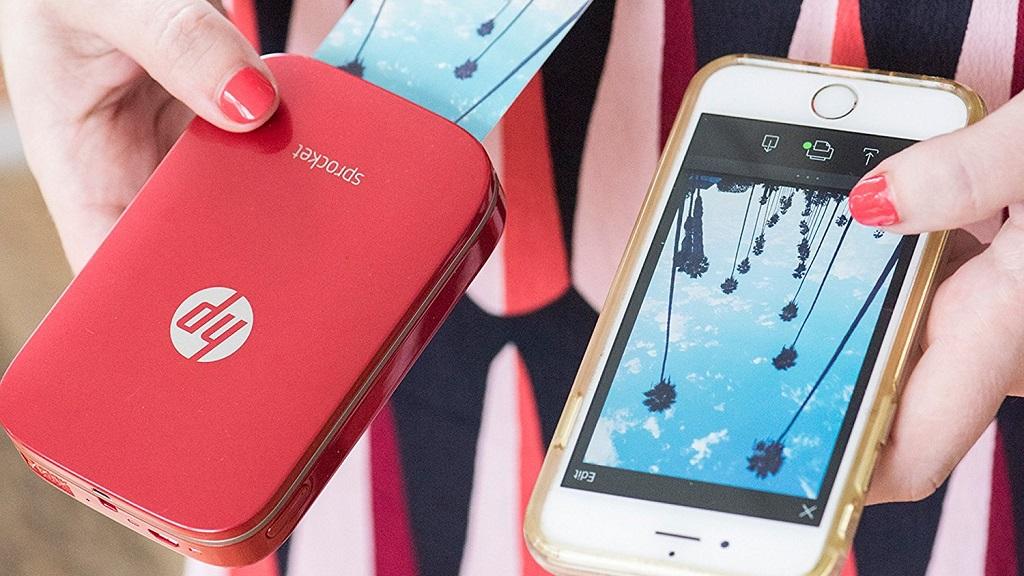 Nueva HP Sprocket en color rojo, disfruta de tus fotos favoritas en cualquier lugar 30