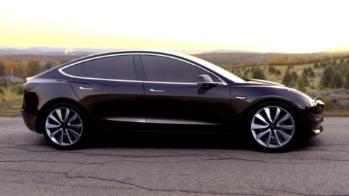 """Nuevas imágenes del Tesla Model 3, un modelo """"económico"""""""