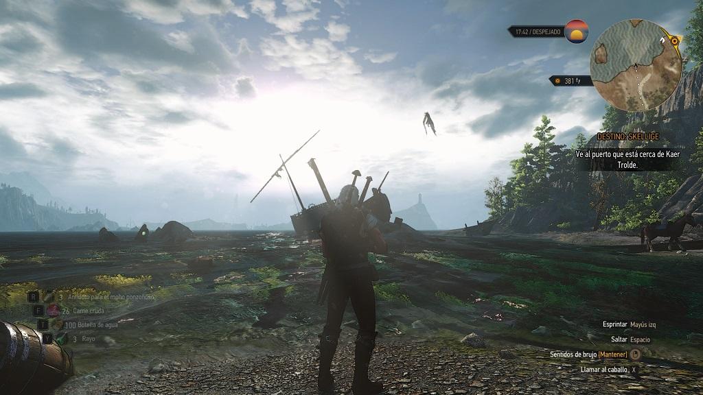 The Witcher 3 en primera persona luce así de bien 30