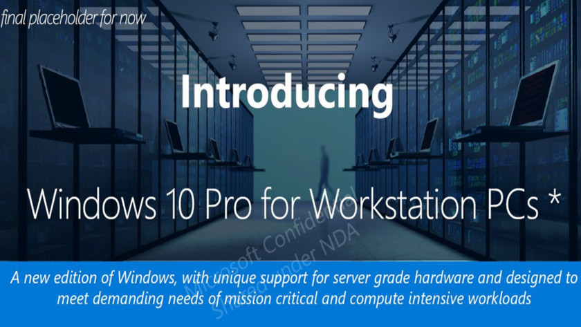 Windows 10 Pro for Advanced PCs, nueva versión del S.O