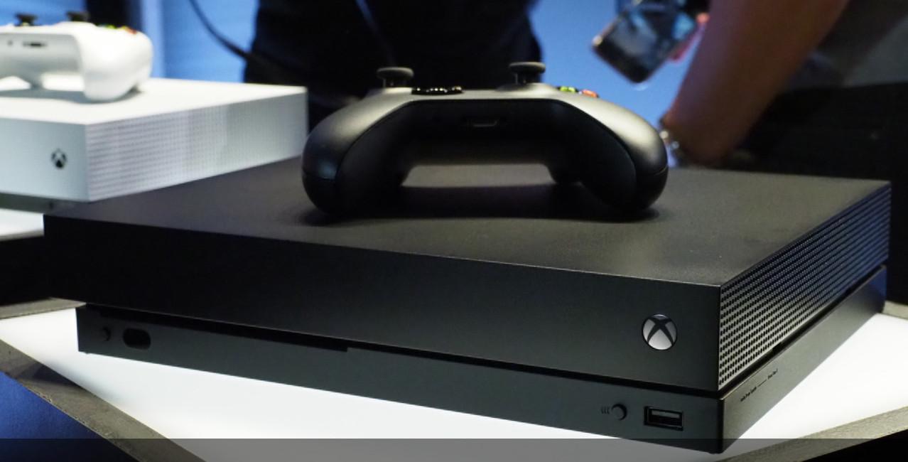 Primer vistazo a la Xbox One X 32