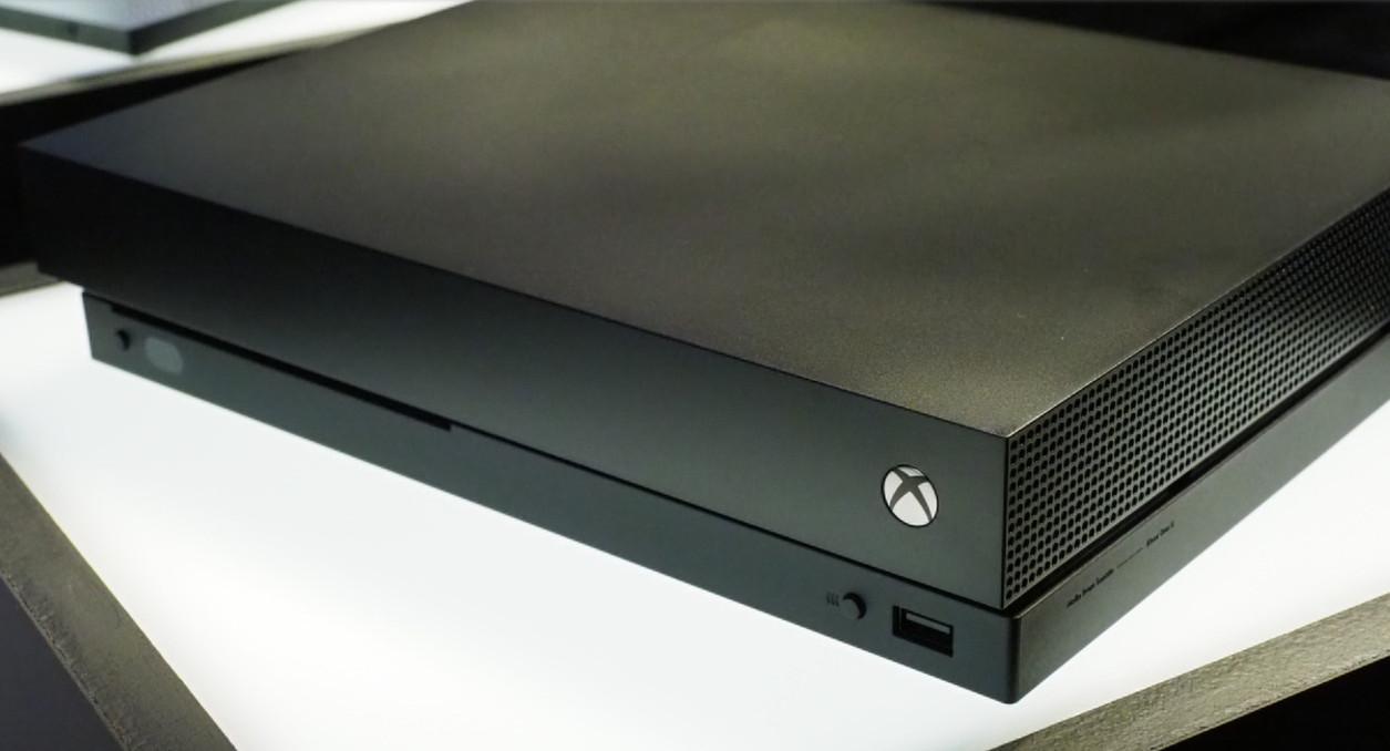 Primer vistazo a la Xbox One X 34