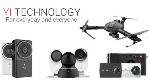 YI Technology prepara cámara de RV 180 grados compatible con Google Daydream