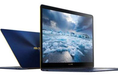 ASUS comercializa el ultraportátil Zenbook 3 Deluxe