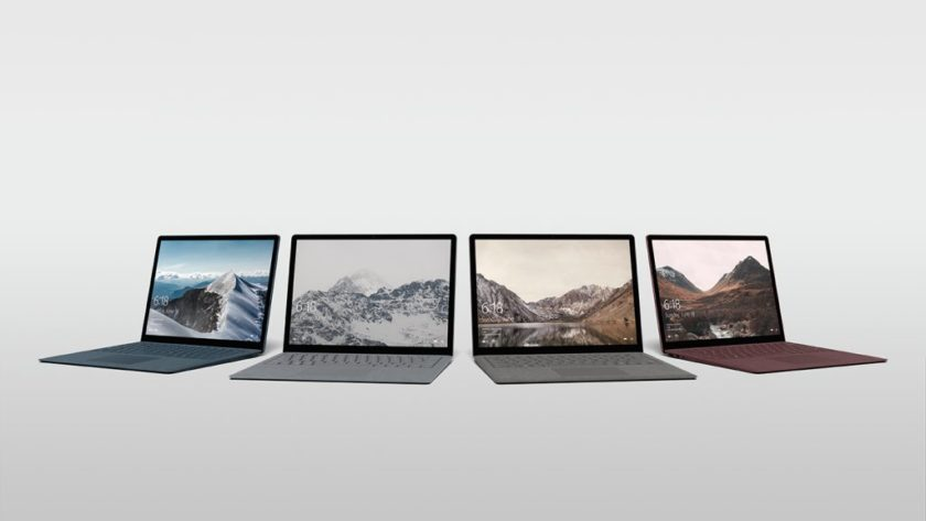 Surface Laptop te permite volver de Windows 10 Pro a Windows 10 S