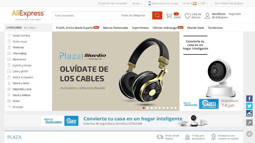España es el segundo país que más encargos realiza a AliExpress 29