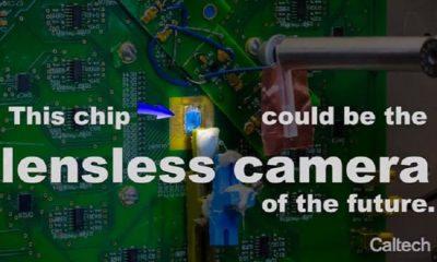 Desarrollan cámara totalmente plana que capta imágenes sin lentes 56