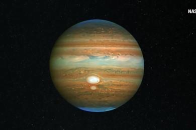 """No te pierdas este impresionante """"vídeo"""" de Júpiter"""