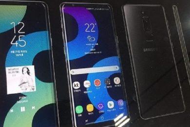 Primera imagen promocional del Galaxy Note 8 de Samsung