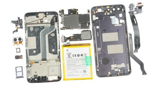 Despiece del OnePlus 5, tiene una buena calidad de construcción