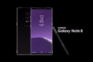 El Galaxy Note 8 tendrá un precio cercano a los 1.000 euros