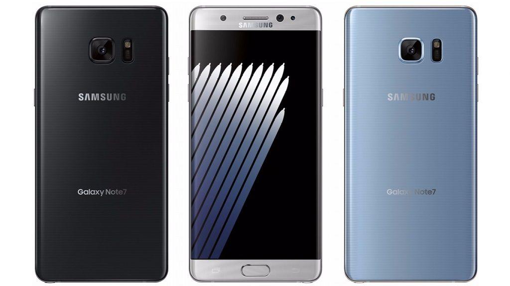 El Galaxy Note 7 restaurado llegará el 7 de julio, precio 29