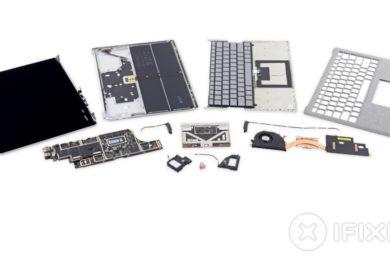 iFixit desmonta el Surface Laptop, recibe un cero sobre diez