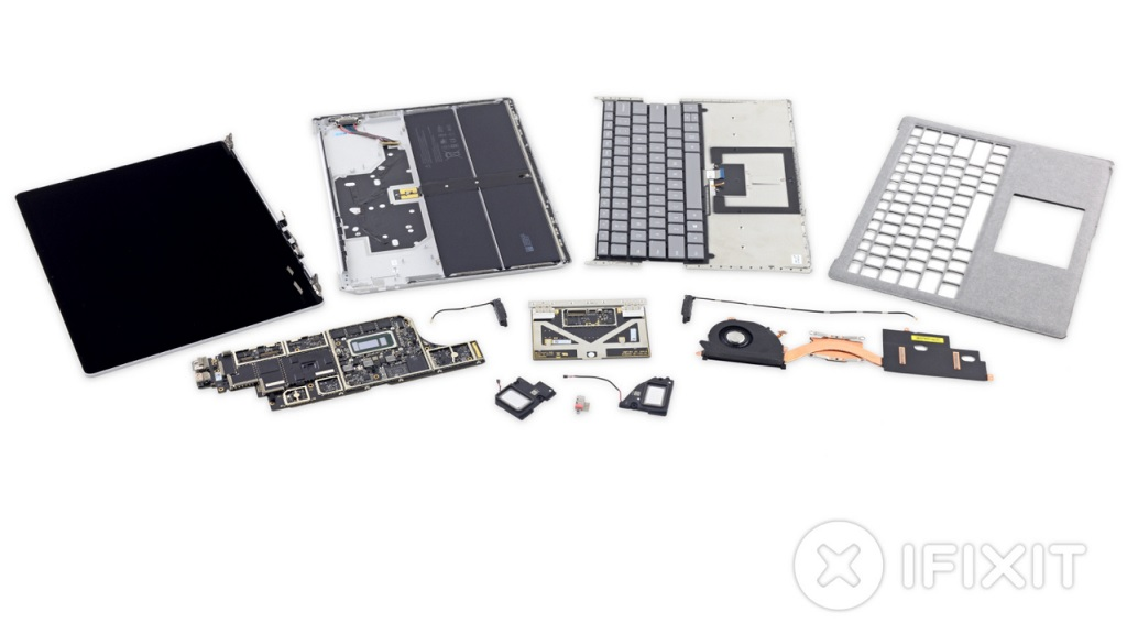 iFixit desmonta el Surface Laptop, recibe un cero sobre diez 30