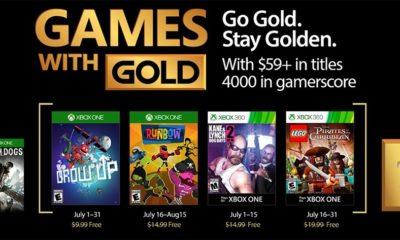 Confirmados los juegos gratis de Games with Gold para julio 40