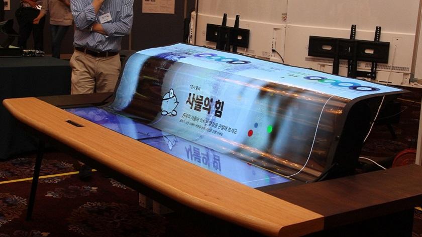 LG sorprende con una pantalla flexible 4K y semitransparente de 77 pulgadas 29