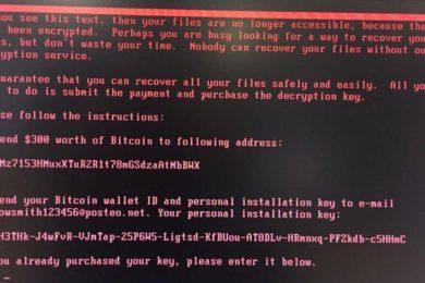 Confirmado nuevo ciberataque masivo utilizando el ransomware Petya