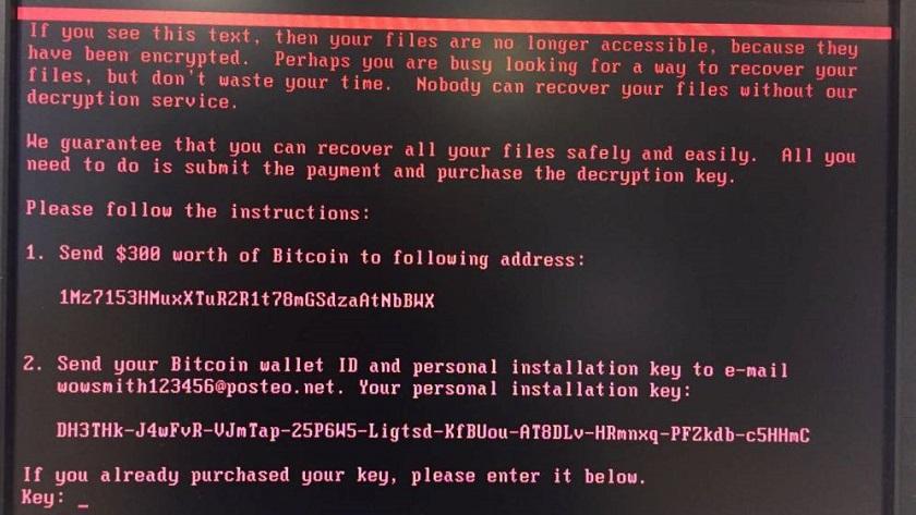 Confirmado nuevo ciberataque masivo utilizando el ransomware Petya 32
