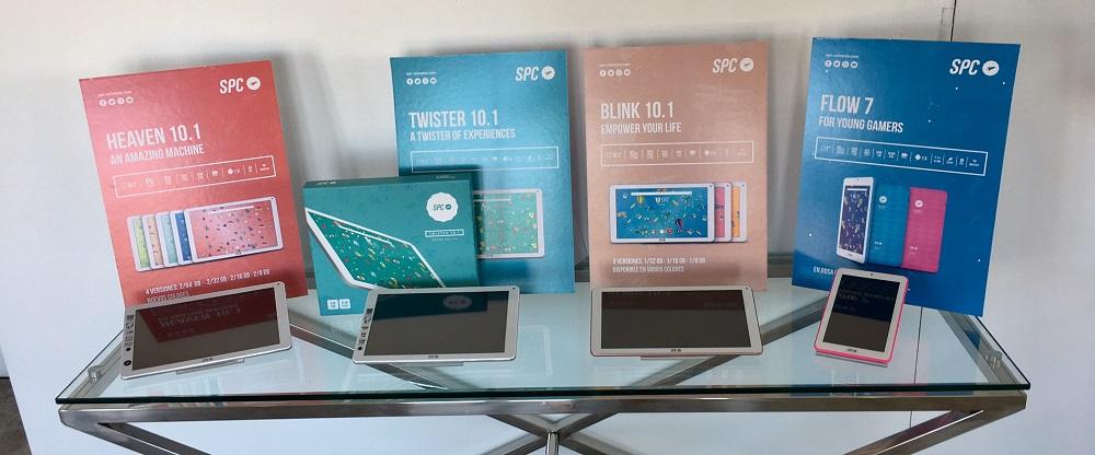SPC amplia su catálogo de altavoces portátiles y renueva tablets 33