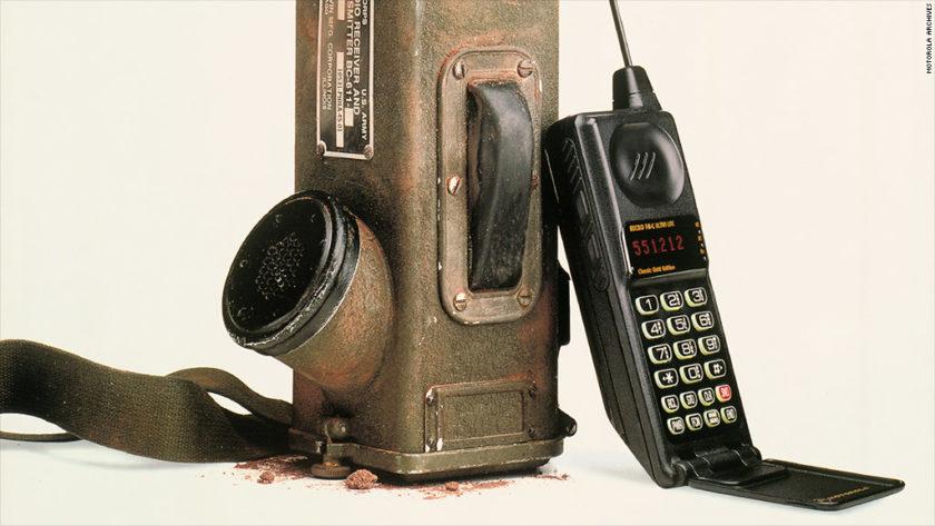 Podr amos haber tenido tel fonos m viles 40 a os antes for Moviles modernos
