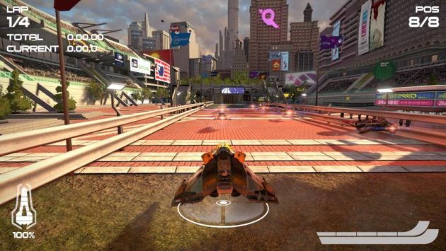 WipEout Omega, análisis (PS4) 33