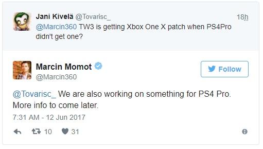 The Witcher 3 Wild Hunt recibirá mejoras en Xbox One X y PS4 Pro 31