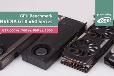 Comparativa de rendimiento: GTX 660, GTX 760, GTX 960 y GTX 1060
