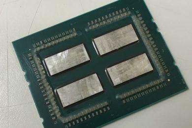ThreadRipper tiene 32 núcleos y 64 hilos, pero la mitad están desactivados