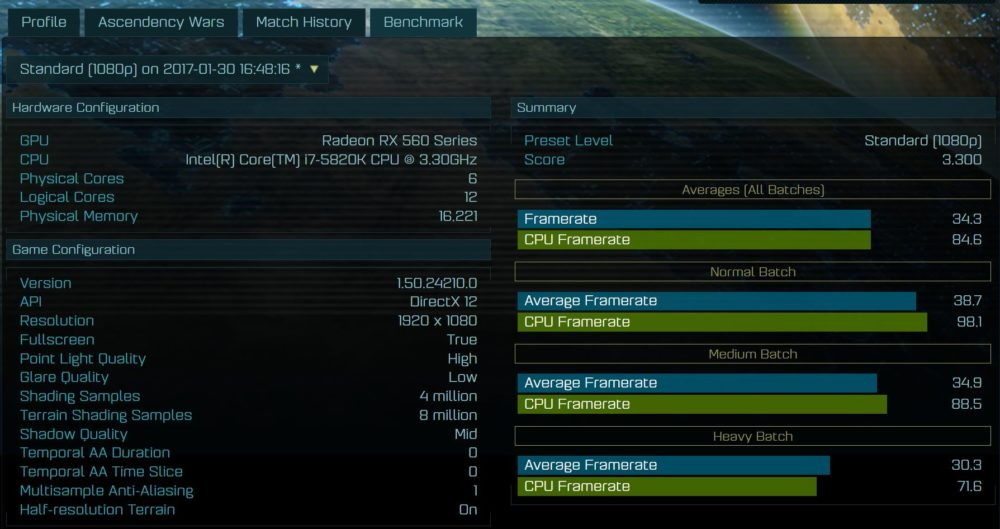 Primera prueba de rendimiento de la APU RYZEN 5 2500U con GPU Vega de AMD 34
