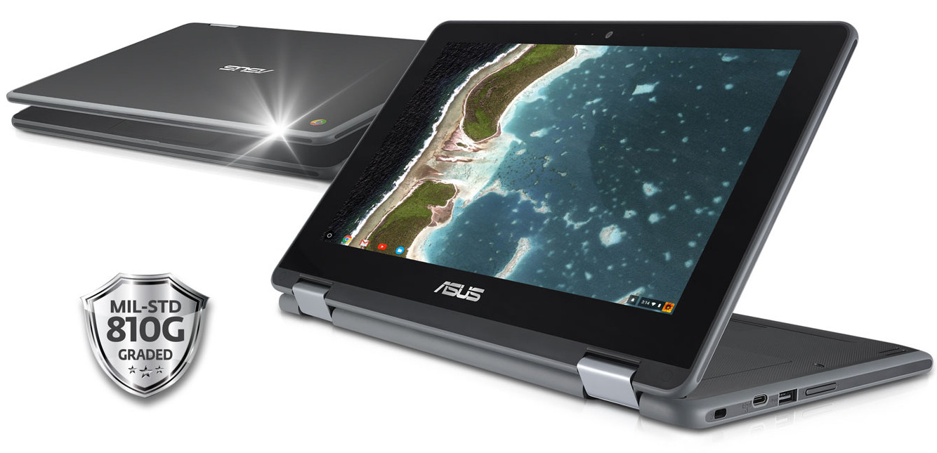 "ASUS Chromebook Flip C213: ""el futuro del PC educativo"" 30"