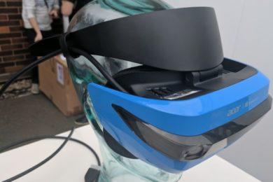Primer vistazo en vídeo del Acer Mixed Reality