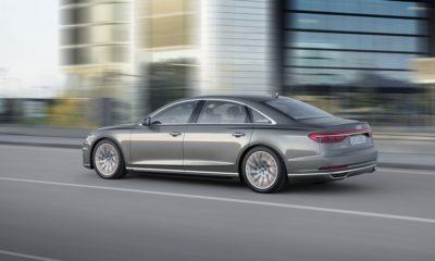 Nuevo Audi A8, primer coche semi-autónomo de nivel 3 de la compañía alemana 33
