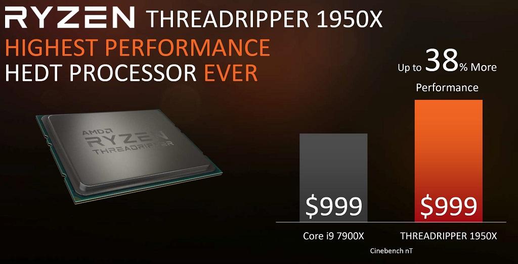 AMD anuncia sus CPUs Threadripper, especificaciones y precios 31