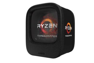 AMD anuncia sus CPUs Threadripper, especificaciones y precios
