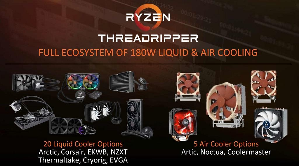 AMD anuncia sus CPUs Threadripper, especificaciones y precios 41