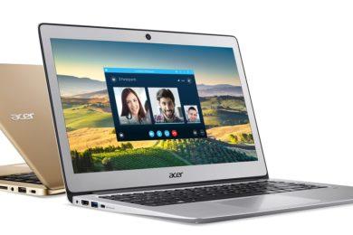 Listado portátil Acer con procesador Coffee Lake de Intel y GeForce MX150