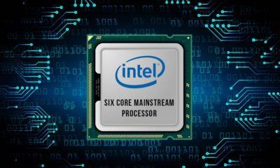 Captura CPU-Z de un Intel Core Coffee Lake de 6 núcleos 92