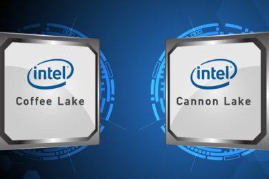 Nueva información sobre los Core i7 y Core i5 Coffee Lake de Intel