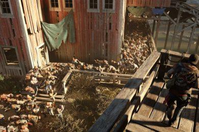Nuevo vídeo con juego real de Days Gone, así influye el clima