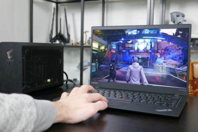 GIGABYTE AORUS Gaming Box, ¿puede convertir un portátil en un equipo para jugar?