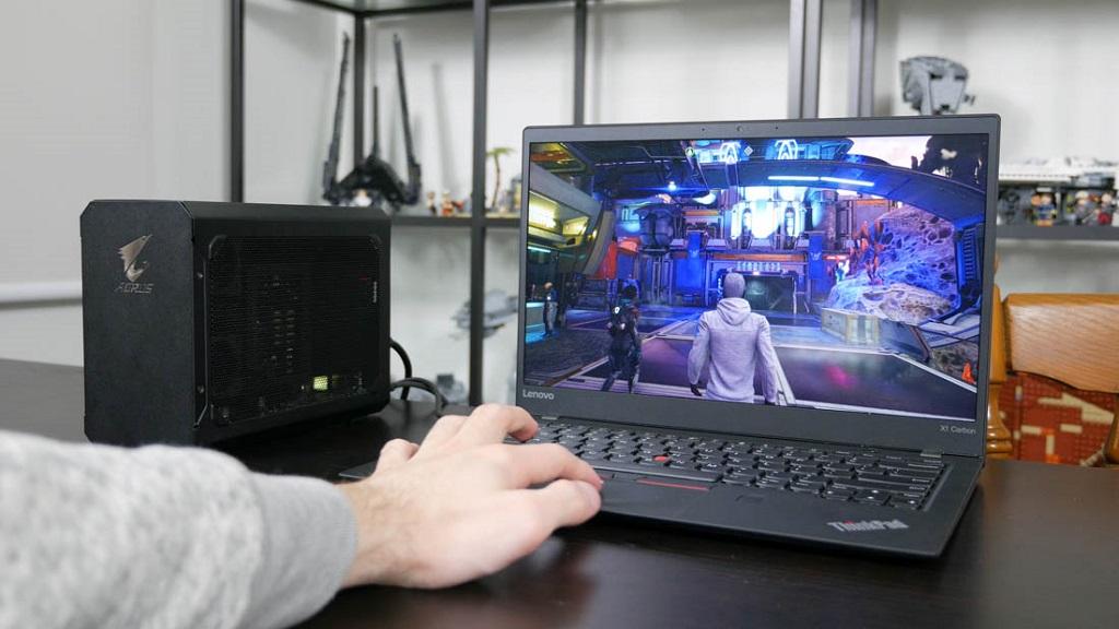 GIGABYTE AORUS Gaming Box, ¿puede convertir un portátil en un equipo para jugar? 29