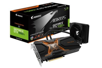 GIGABYTE anuncia la AORUS GeForce GTX 1080 Ti WaterForce Xtreme
