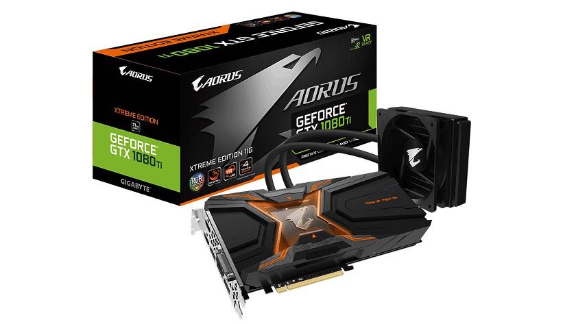 GIGABYTE anuncia la AORUS GeForce GTX 1080 Ti WaterForce Xtreme 30