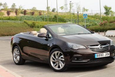 Opel Cabrio, abierto