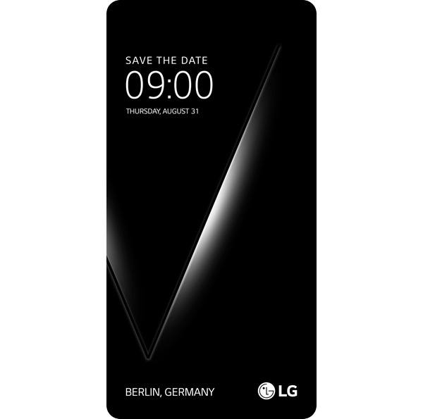 LG V30, listo para la feria IFA 30